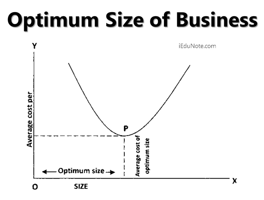 Optimum Size of Business