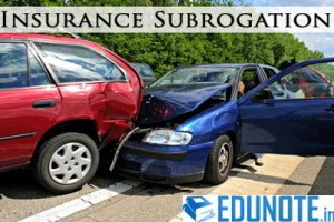 Subrogation Principle in Insurance