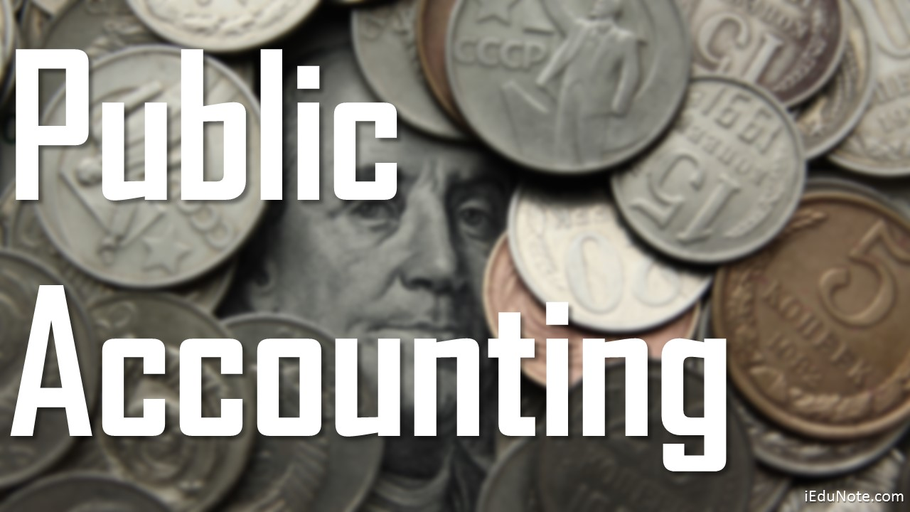 public accounting career
