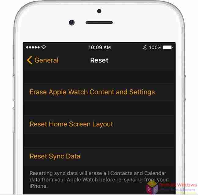 Erase your Apple Watch – Reset Your Apple Watch and Restore it from iPhone Backup