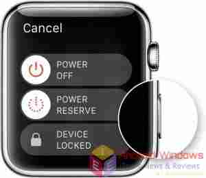 Erase Apple Watch and set up apple watch as new
