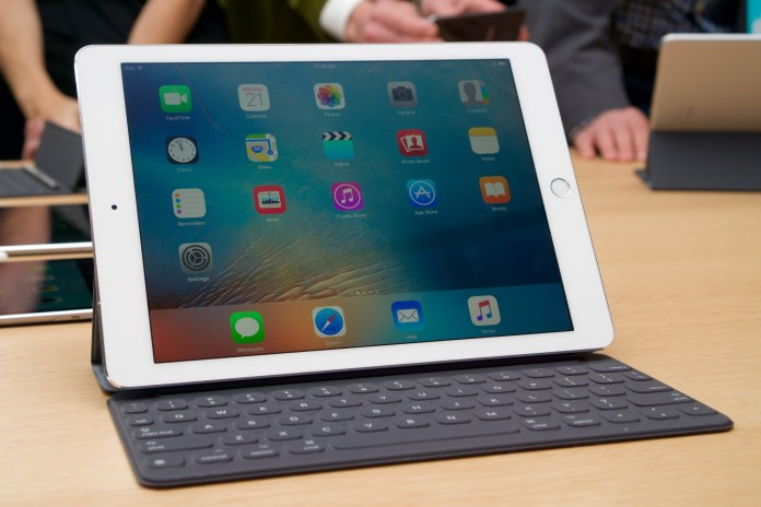 iPad Pro 9.7 - inch above- the 12.9 inch was measured 6.1 millimeters thick and weighs less than a kilo