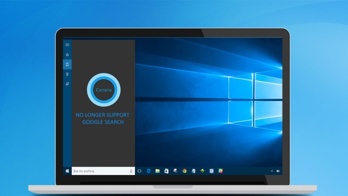 Microsoft declares Cortana search box as Bing- and Edge-only turf