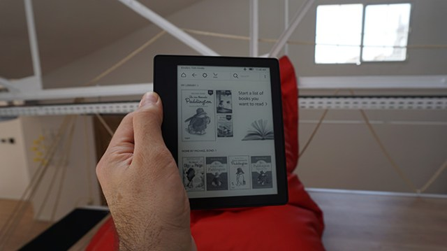 Amazon Kindle Oasis, lighter and more compact than ever