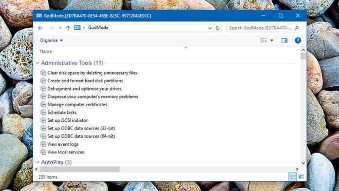 5 Windows 10 advanced features: Hidden features in windows 10; Windows 10 godmode