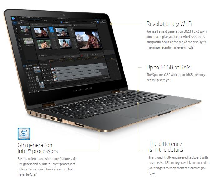 HP Spectre x360 Performance