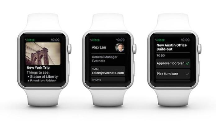 Best apple watch apps: Evernote