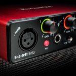 Focusrite Scarlett Solo: Best USB Audio Interface for Music Production: Best Audio Interface For Mac: Best Audio interface 2016: Best professional audio interface; Best Audio interface for Mac