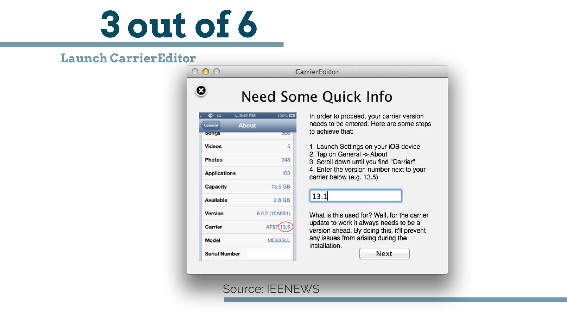 carriereditor для windows 7 скачать