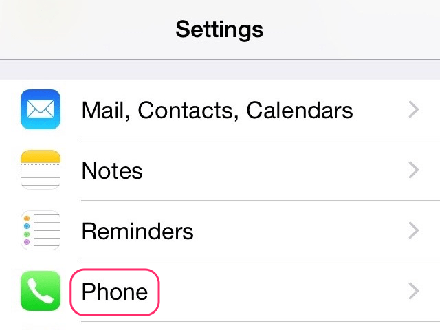 tap on Phone Settings: How to Fix Your sim played a tone iPhone 6 message Vodafone and others
