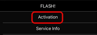 Just Click or tap on Activation tab: How to Fix Your sim played a tone iPhone 6 message Vodafone and others
