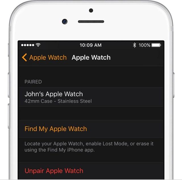 Turn off Activation Lock on Apple Watch