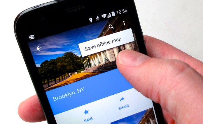Save Maps to Reduce Data usage.: How to reduce data usage on android