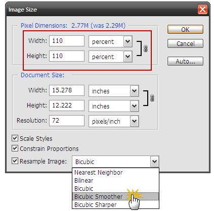 Adobe Photoshop CC Image Resizing: Resize Images Larger without Losing Quality in Photoshop