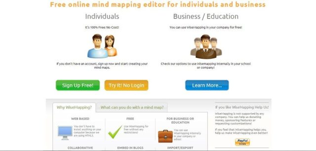 Best free mind mapping software: online 2017, 2016