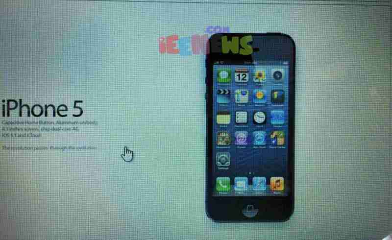 Apple iPhone 5 Full Specifications and features