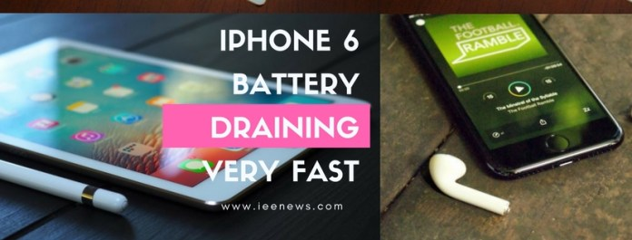 iPhone 6 battery draining fast all of a sudden: iPhone 6 battery drain overnight