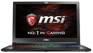 MSI VR Ready GT72VR Dominator-033 Gaming Laptop: best VR ready gaming laptop