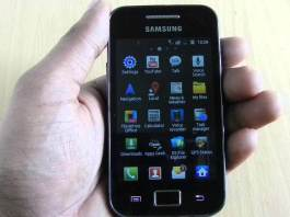 How to take a screenshot on Samsung Galaxy Ace