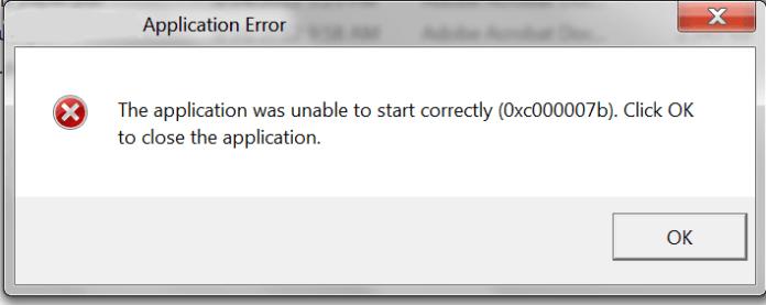 Fix 0xc000007b error windows 10   How to troubleshoot error 0xc000007b