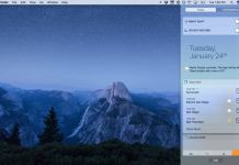 Enable Mac Night Shift: MacOS Sierra night shift