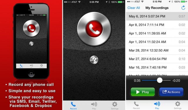 Best Call recorder for iPhone