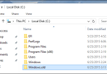 1 Windows.old folder How to delete temporary files in Windows 10 and get more disk space
