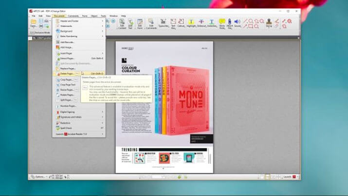 PDF-XChange Viewer est free and alternative PDF readers to Adobe Acrobat Reader, adobe reader alternative 2017