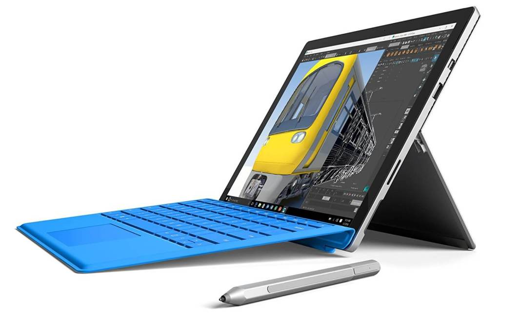 Microsoft Surface Pro 4 (256 GB, 8 GB RAM, Intel Core i7) best business tablet cum laptop