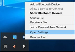 Can not find any Bluetooth device in Windows 10