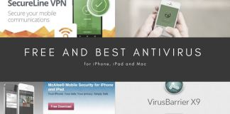 Free and best antivirus for iphone,ipad an mac