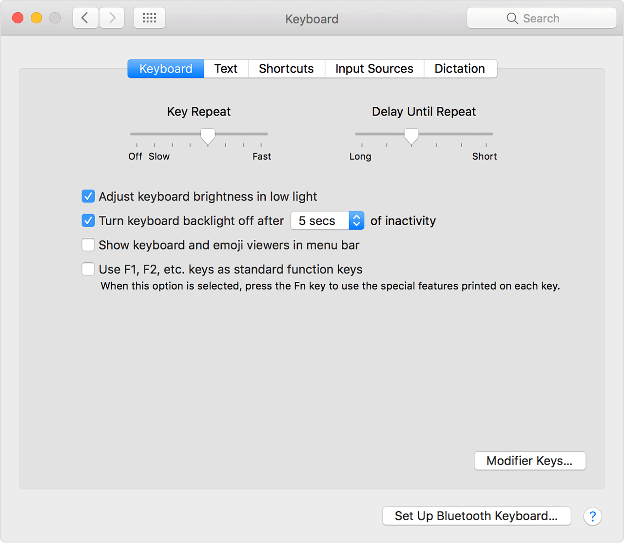 My Keyboard Light Wont Turn On Macbook Air