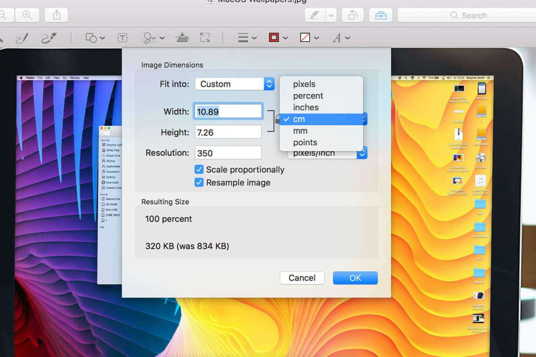 How to Resize a Photo on Mac | Changing Image Size using Preview