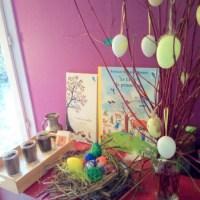 Nos activités autour du printemps et de pâques.