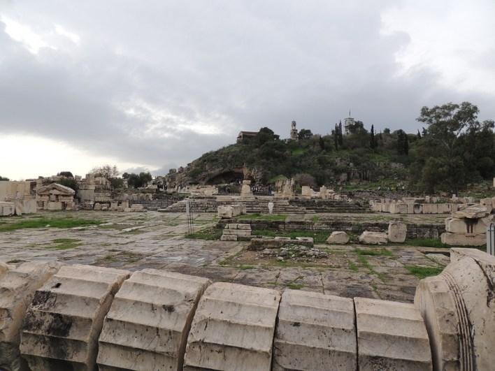 Ο αρχαιολογικός χώρος Ελευσίνας