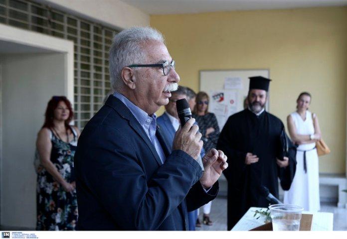 Ο υπουργός Παιδείας μίλησε στου μαθητές