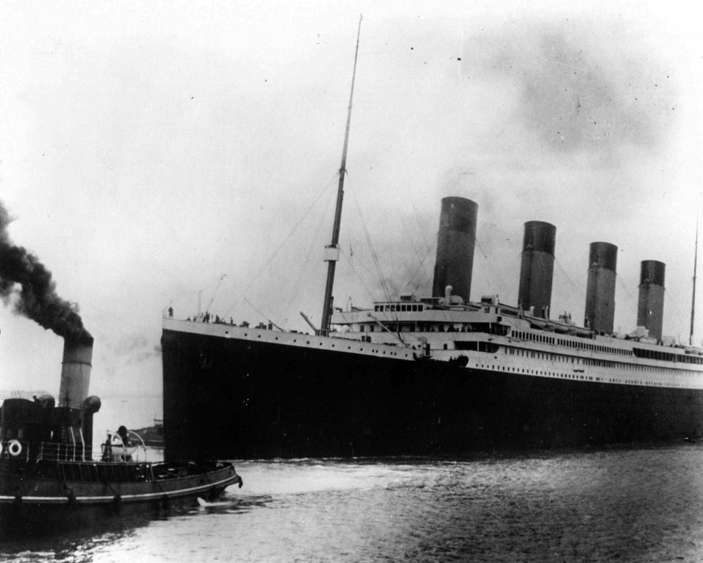 Ο Τιτανικός βυθίστηκε στο παρθενικό του ταξίδι το 1912