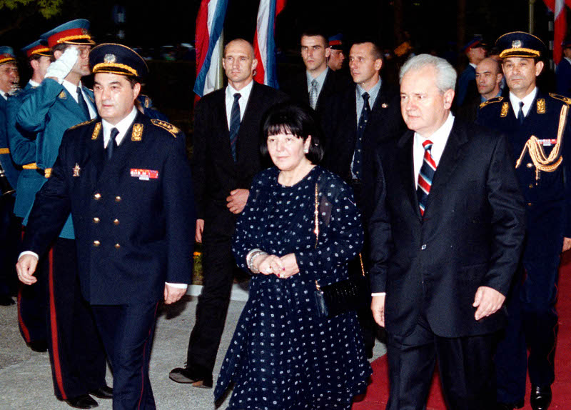 marcovic-milosevic Πέθανε η Μιριάνα Μάρκοβιτς, σύζυγος του Σλόμπονταν Μιλόσεβιτς