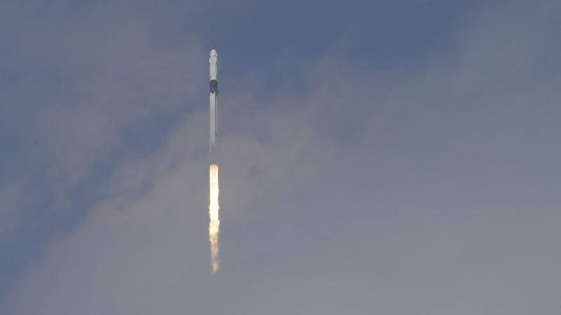 Το ταξίδι του πυραύλου της Space X