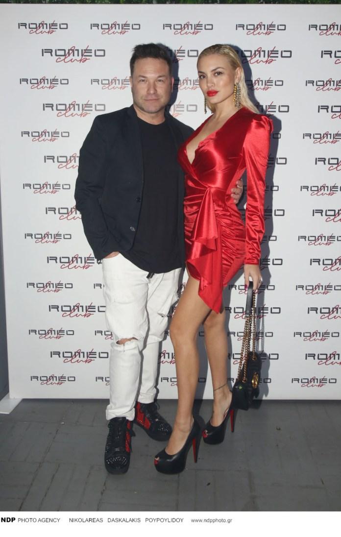Η Αλεξάνδρα Παναγιώταρου με τον σύζυγό της, Αριστομένη Γιαννόπουλο / Φωτογραφία: NDP