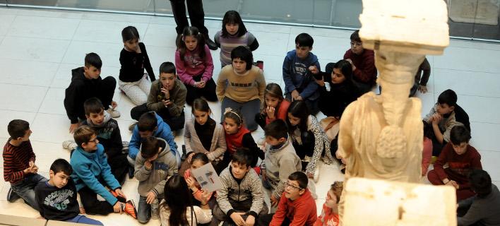 Μουσείο Ακρόπολης, φωτογραφία: EUROKINISSI/ΤΑΤΙΑΝΑ ΜΠΟΛΑΡΗ