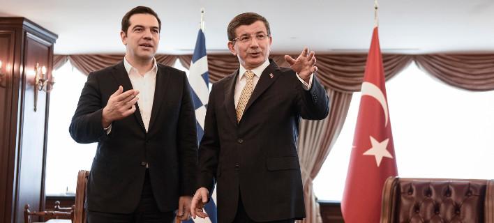 Νταβούτογλου σε Τσίπρα: Εχουμε εκλογές το 2019 στην Τουρκία, έλα να κατέβουμε μαζί