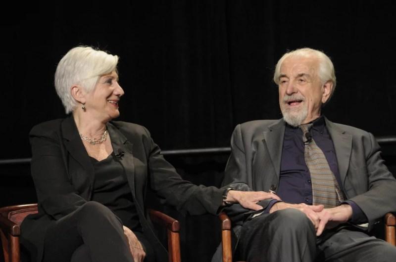 Η Ολυμπία Δουκάκη με τον σύζυγό της Λούις Ζόριχ