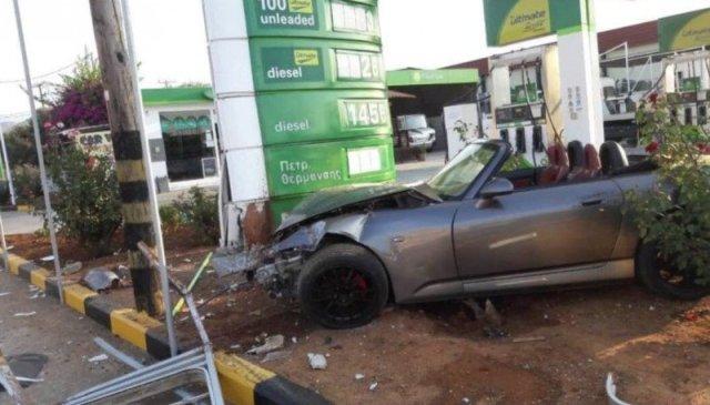 Ο οδηγός έχασε τον έλεγχο του οχήματος υπό αδιευκρίνιστες συνθήκες