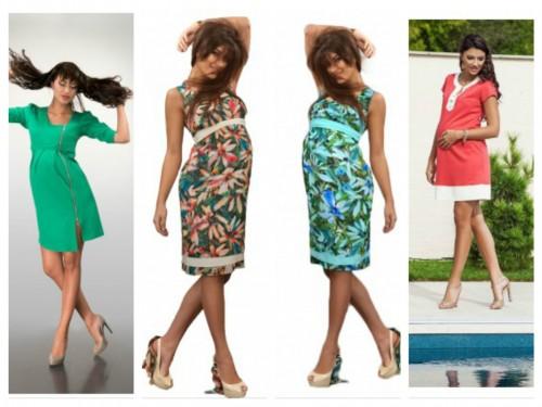 rochii gravide pentru vara