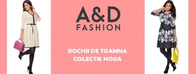 A&D Fashion magazin atelier rochii de toamnă