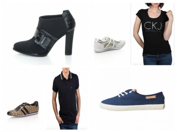 tricouri și pantofi Calvin Klein