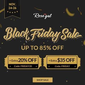 rosegal sale black friday