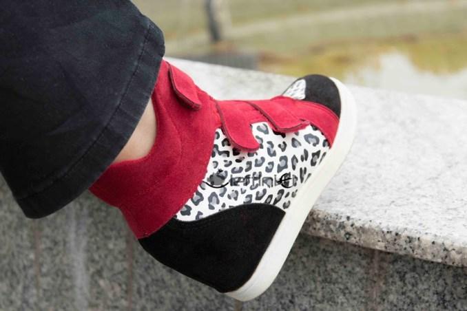 pantofi cu platforma interioara