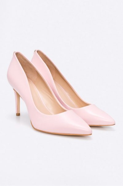 pantofi roz guess jeans